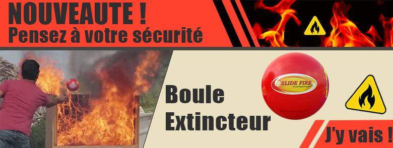 BOULE D'EXTINCTION ANTI-FEU