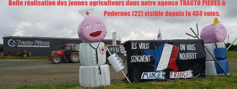 Réalisation des jeunes agriculteurs du 22