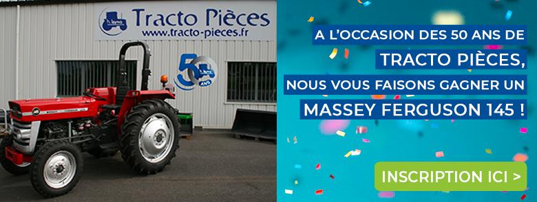 Concours pour gagner un magnifique Massey Ferguson 145 entèrement rénové.